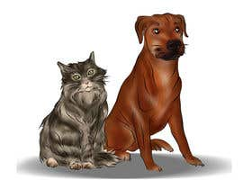 #24 untuk Cat and Dog Cartoon oleh marstyson76