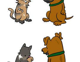 #9 untuk Cat and Dog Cartoon oleh blahsum