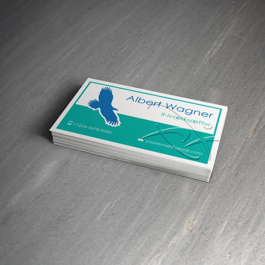 #32 for Personal business card for it-entrepreneur by raywind
