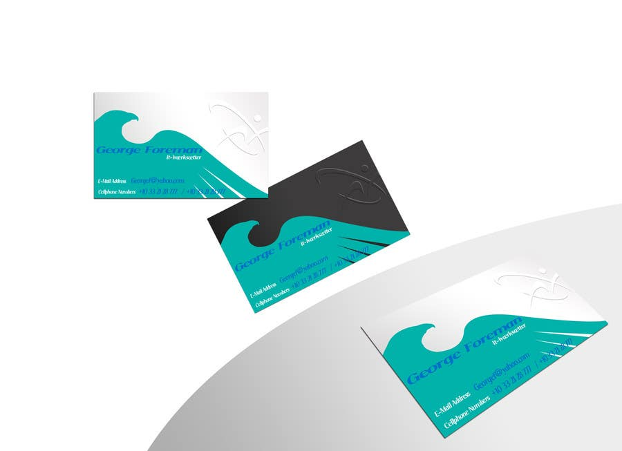#38 for Personal business card for it-entrepreneur by pong10