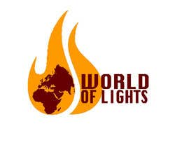 nº 38 pour Need new logo for my company; World of Lights par andrewfisk