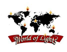 #33 for Need new logo for my company; World of Lights by ELNADEJAGER