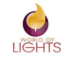 nº 44 pour Need new logo for my company; World of Lights par jovanramonida