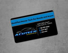 Nro 1 kilpailuun Design some Business Cards for acutech automotive inc using existing logo käyttäjältä acmstha55