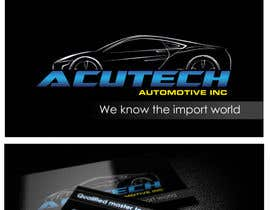 Nro 4 kilpailuun Design some Business Cards for acutech automotive inc using existing logo käyttäjältä ninjapz