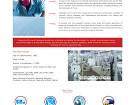 #4 for Corporate Microsite Redesign by ravinderss2014
