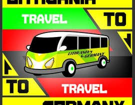 #7 untuk Design very catchy image for classified ad - Image about Travel to Germany with minibus oleh Havez