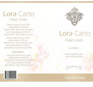 #7 untuk Create Print and Packaging Designs for  Lora Carto oleh RainMQ