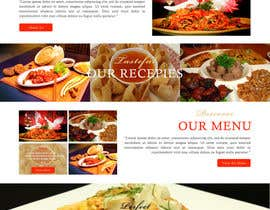 #3 untuk Design a Website Mockup for a  Chinese restaurant oleh ravinderss2014