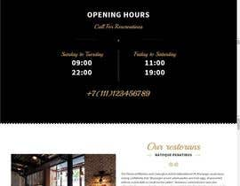 #2 untuk Design a Website Mockup for a  Chinese restaurant oleh infofixs