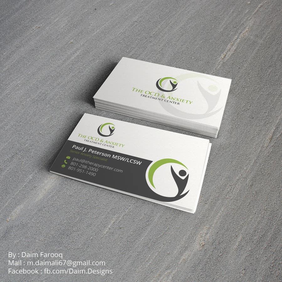 Penyertaan Peraduan #83 untuk Business Card Design