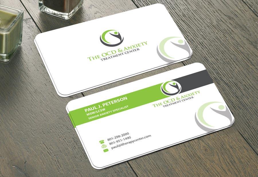 Penyertaan Peraduan #77 untuk Business Card Design
