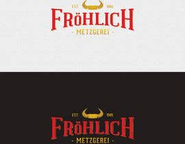 #19 untuk Professional logo for a butcher's shop - winner has chance of designing brochure, business cards, etc. oleh ivanovic910