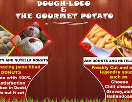 #22 untuk Design a Banner for Dough-loco & the gourmet potato 1 oleh aadil666
