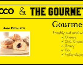#37 untuk Design a Banner for Dough-loco & the gourmet potato 1 oleh MooN5729