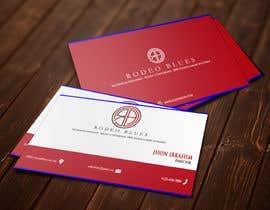 #29 untuk Design Business Cards for Rodeo Blues oleh ah7635374