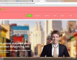 #22 untuk Website template and menu oleh Zulqrnain37