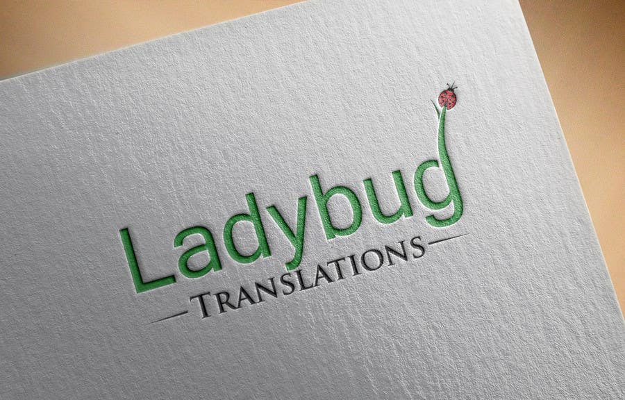 Entry #7 by georgeecstazy for Ladybug Translations needs Logo ...