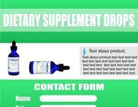 #9 untuk Profesional Dietary Supplement Landing Page oleh VMRKO