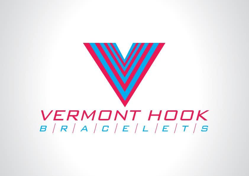 Bài tham dự cuộc thi #                                        40                                      cho                                         Design a Logo for Vermont Hook Bracelets