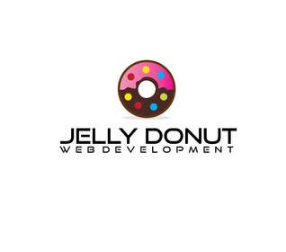"#5 untuk Design a Logo for web development company called  ""Jelly Donut"" oleh alyymomin"