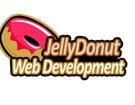 "#54 untuk Design a Logo for web development company called  ""Jelly Donut"" oleh vivekdaneapen"