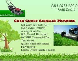#1 untuk Design an Advertisement for a Lawn Mowing Business oleh lenatamimi