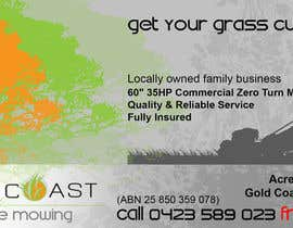 gilbertgambin tarafından Design an Advertisement for a Lawn Mowing Business için no 16