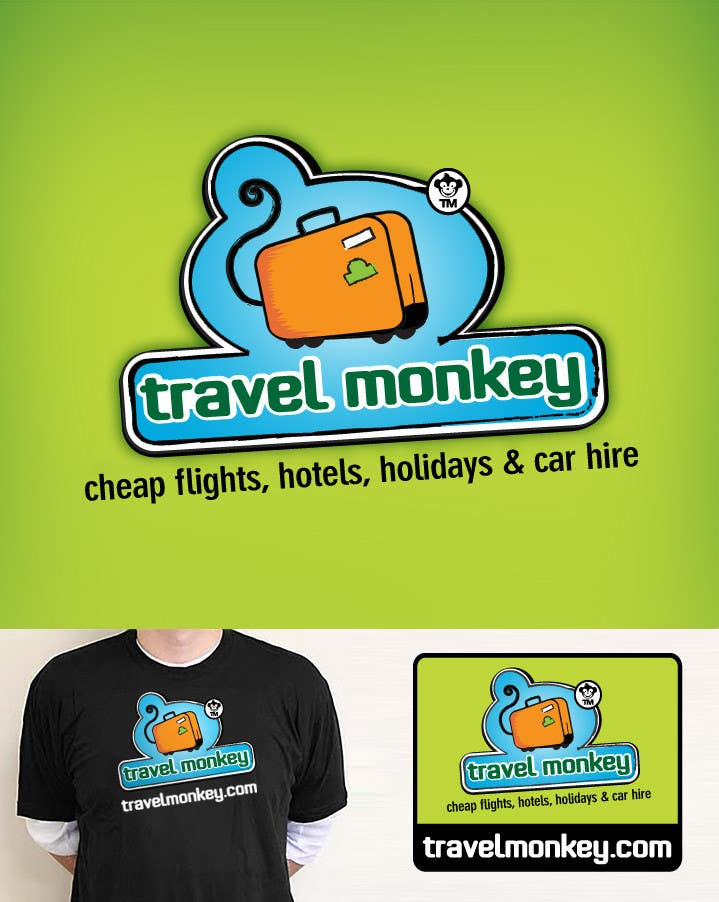 Contest Entry #260 for Logo Design for travelmonkey