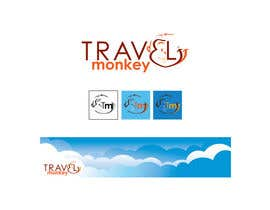 #183 for Logo Design for travelmonkey af ArteeDesign