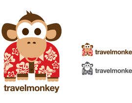 nº 311 pour Logo Design for travelmonkey par bombingbastards