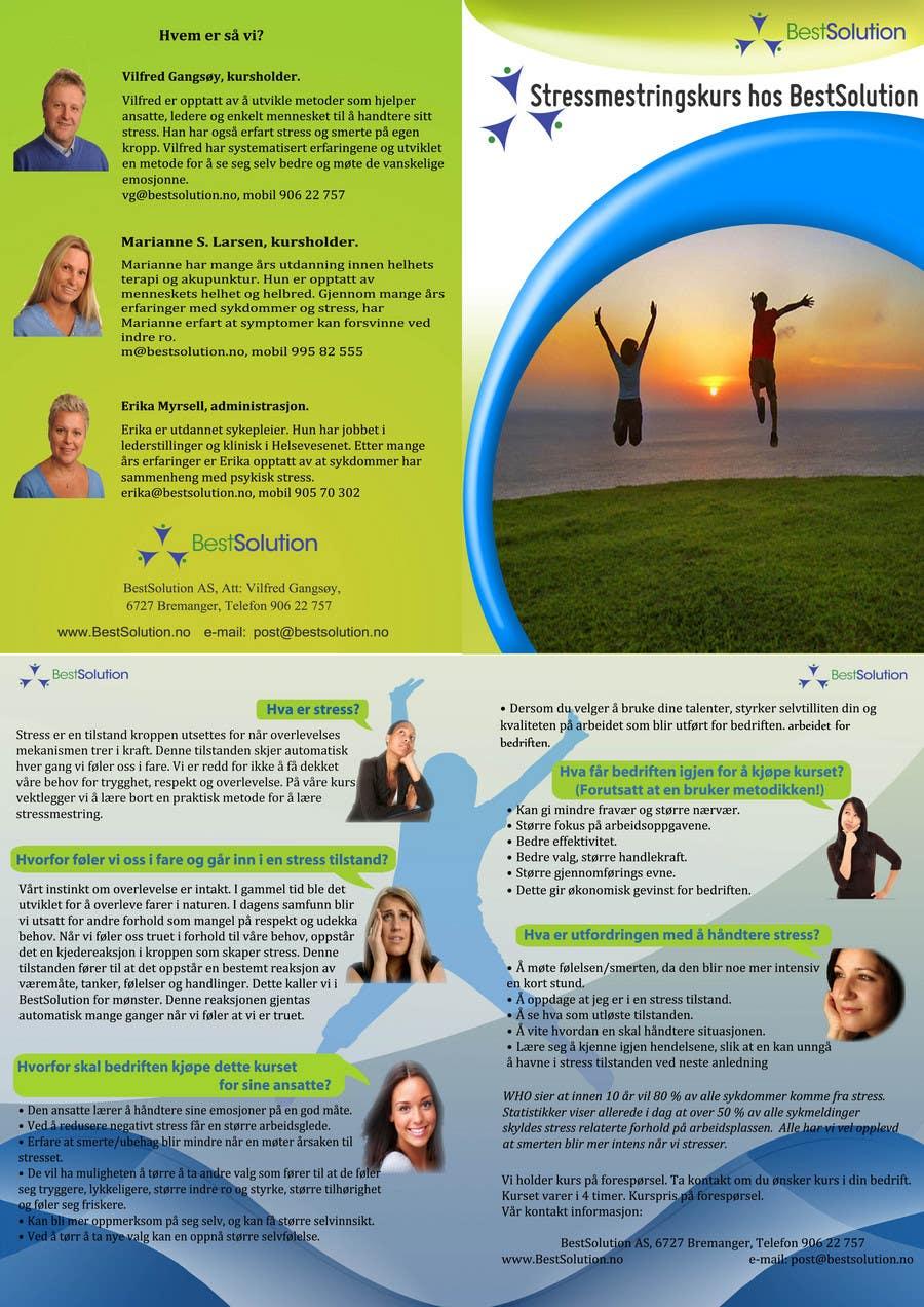 Конкурсная заявка №21 для Brochure Design for BestSoluton.no