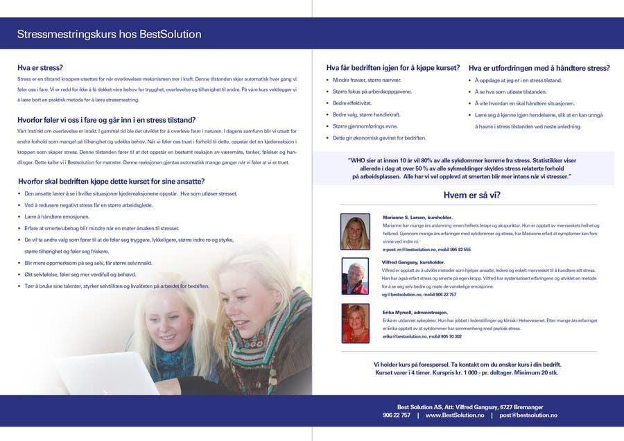 Inscrição nº                                         11                                      do Concurso para                                         Brochure Design for BestSoluton.no