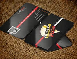 #55 untuk Design some Business Cards for Gotzza Pizza oleh ayishascorpio