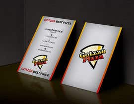 #4 untuk Design some Business Cards for Gotzza Pizza oleh KarlosSatana