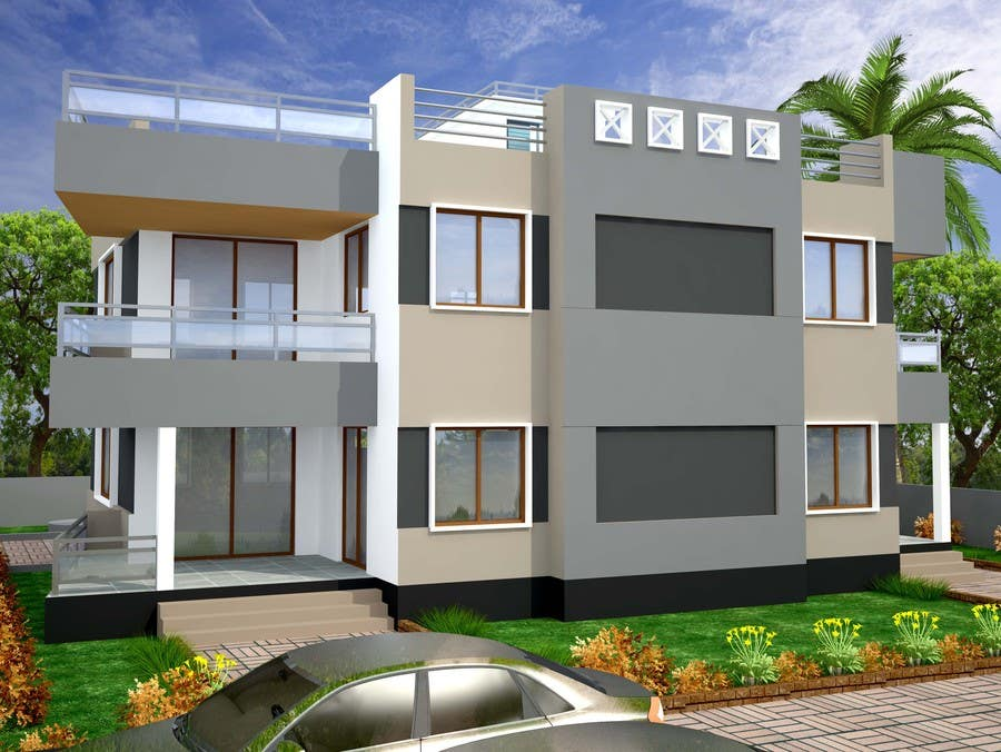 Entry 45 by archmamun for redesign my house and render for Redesign my house