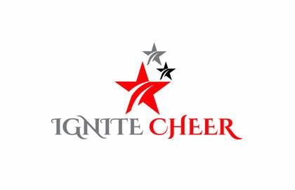 #21 untuk Design a logo for IGNITE CHEER oleh olja85