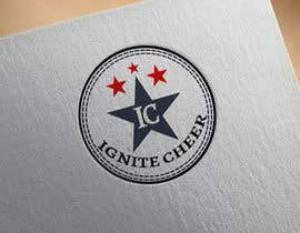 #28 untuk Design a logo for IGNITE CHEER oleh cristinaa14