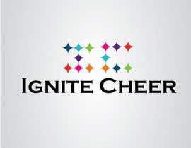 #30 untuk Design a logo for IGNITE CHEER oleh see7designz