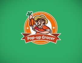 #306 untuk Pop-up  Grocer logo oleh cristianbg