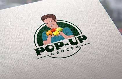 #271 untuk Pop-up  Grocer logo oleh vsourse009
