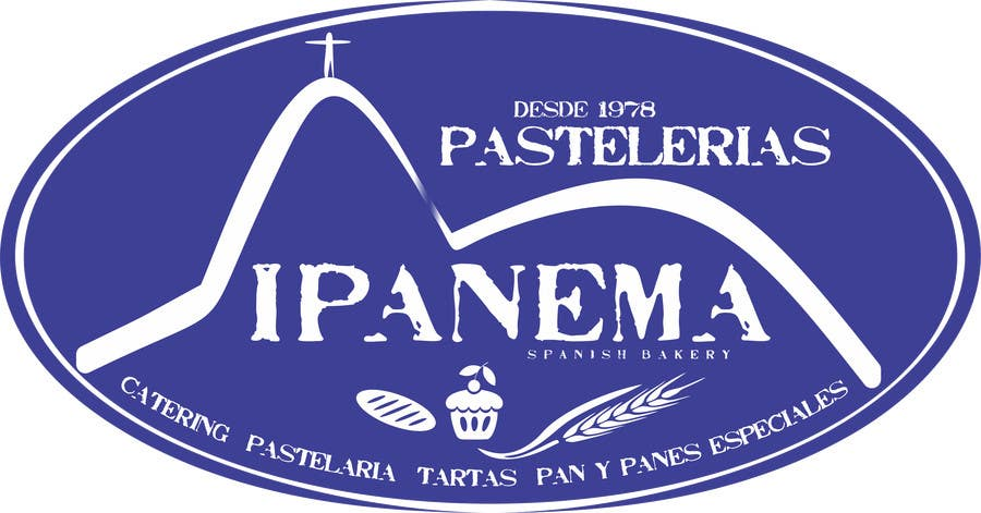 #49 for logo design for traditional bakery IPANEMA by thomasstalder