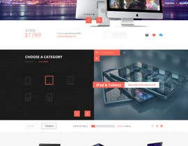 loonytechs tarafından Design a Website Mockup  Aggregated ecommerce site için no 1