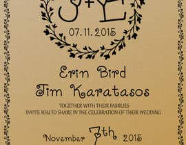 Marmelan tarafından Create Print and Packaging Designs for Wedding Invitation için no 12