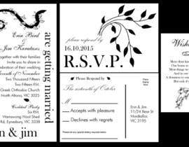 artofjenbrinkle tarafından Create Print and Packaging Designs for Wedding Invitation için no 14