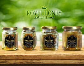Med7008 tarafından Packaging design for Royal Honey için no 22