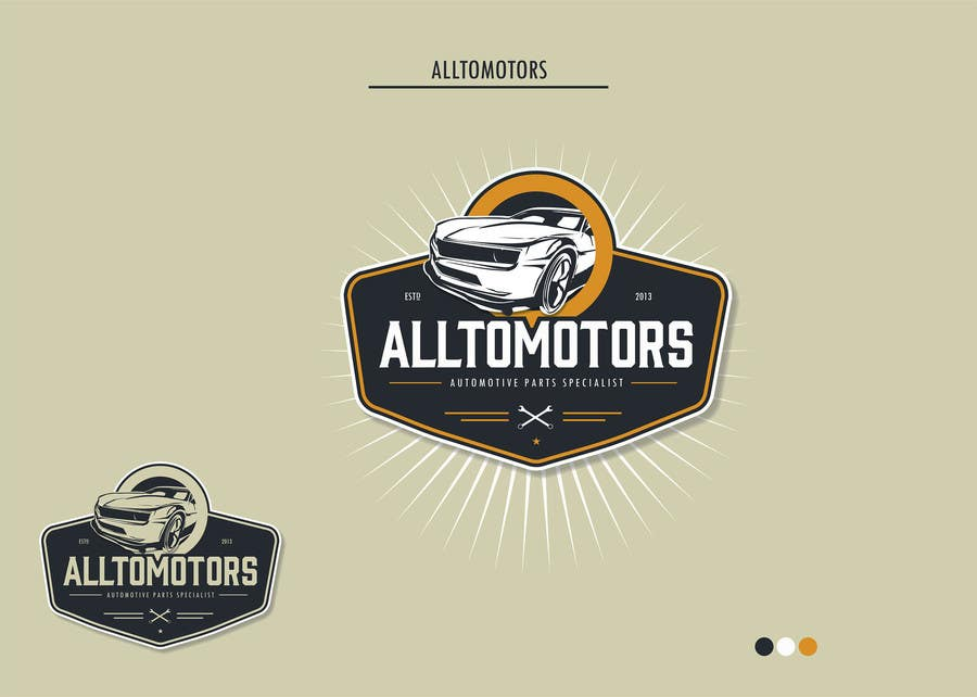 #56 for Design a Logo for ALLTOMOTORS by roman230005