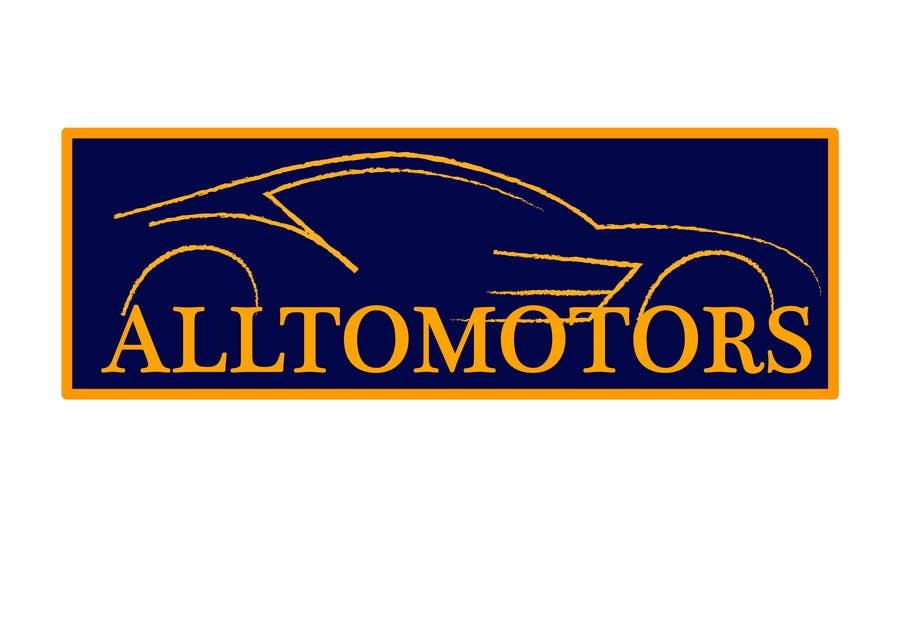 Penyertaan Peraduan #72 untuk Design a Logo for ALLTOMOTORS