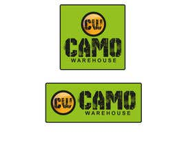 #55 untuk Design a Logo for Camo Warehouse oleh rananyo