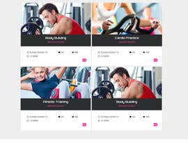 #1 untuk Design and build a homepage for fitness website & forum oleh pankajmahato94